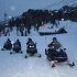 Randonnée en scooter des neiges aux Arcs